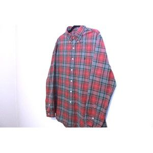 Polo by Ralph Lauren Shirts - Polo Ralph Lauren Red And Green Plaid Button Down